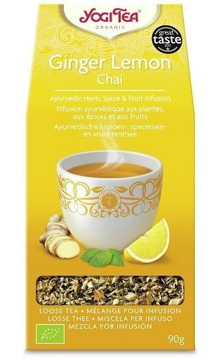 Yogi Tea Ginger Lemon - Sypana 90g
