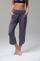 Fold Over Tulip Pant Graphite