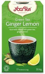 Herbata Yogi Tea Ginger Lemon 30,6g