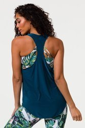 Onzie Glossy Flow Tank Teal Green (wiosna 2020)
