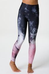 Onzie High Rise Graphic Legging Smokey