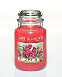 Świeca Yankee Candle - Red Raspberry