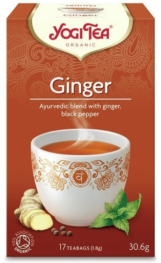 Herbata Yogi Tea Ginger 30,6g