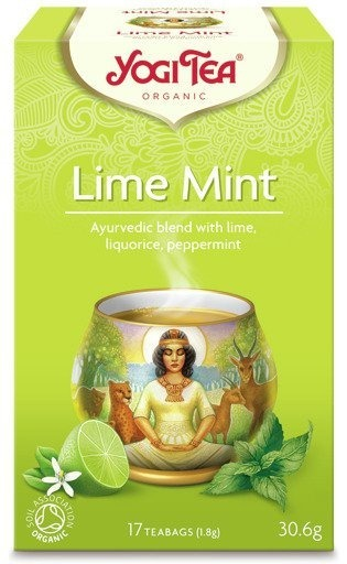 Herbata Yogi Tea Lime Mint 30,6g
