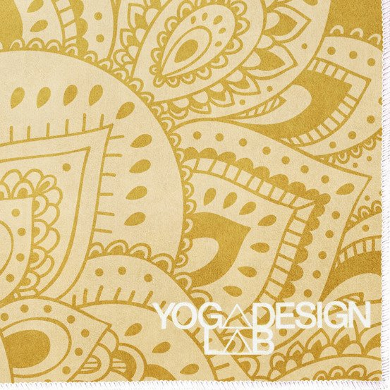 Mata do hot jogi Yoga Design Lab Combo Mat 3.5mm - Mandala Gold