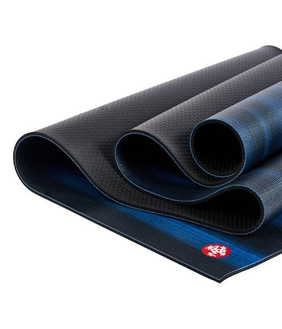 Mata do jogi Manduka Pro 6mm - Black Blue - seria Almost Perfect