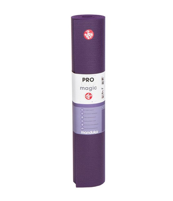 Mata do jogi Manduka Pro 6mm - Black Magic - seria Almost Perfect