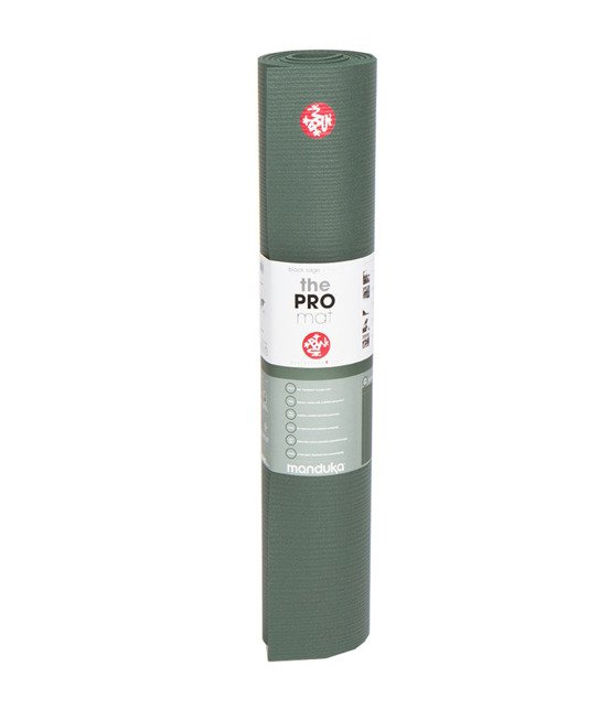 Mata do jogi Manduka Pro 6mm - Black Sage - seria Almost Perfect