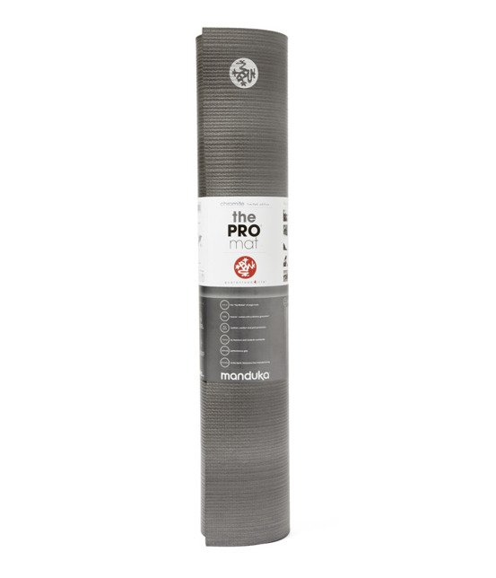 Mata do jogi Manduka Pro 6mm - Chromite