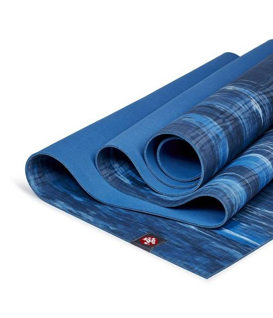 Mata do jogi Manduka eKO Lite 4mm - Dark Sapphire Marbled