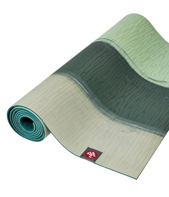 Mata do jogi Manduka eKO Lite 4mm - Green Ash Stripe
