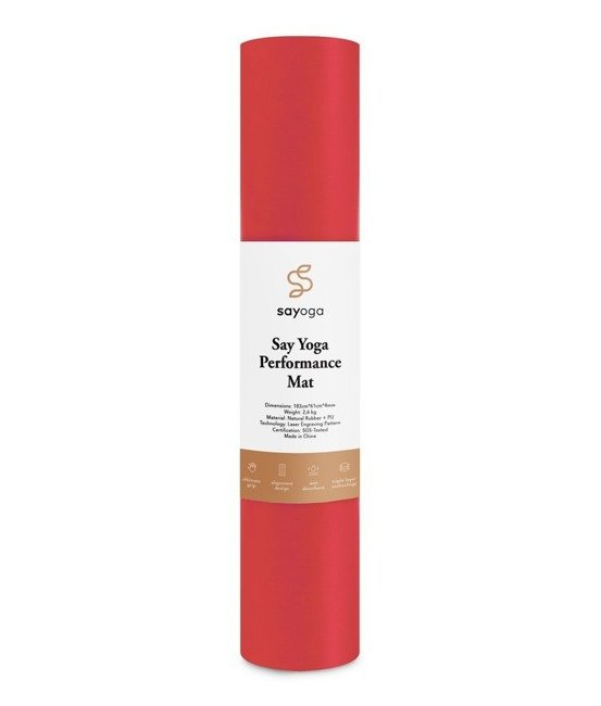 Mata do jogi Sayoga Performance Mat Red