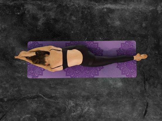 Mata do jogi Yoga Design Lab Infinity - Lavender