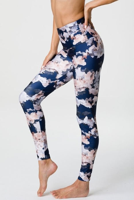 Onzie High Rise Graphic Legging Nomad Blossom