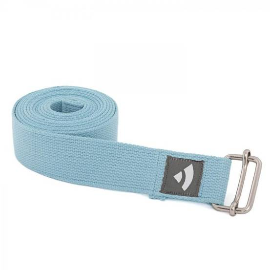 Pasek do jogi Asana morski 2,5 m x 38 mm