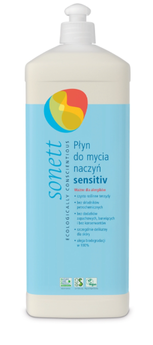 Płyn do mycia naczyń sensitiv eko - 1000ml