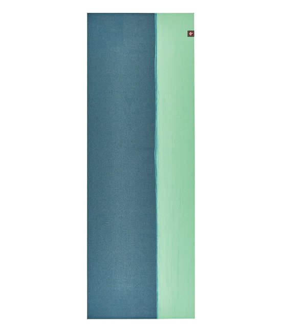 Podróżna mata do jogi Manduka eKO SuperLite Travel 1.5mm - Bondi Blue Stripe