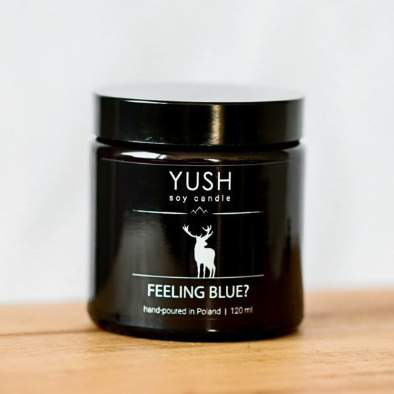 Świeca Yush 120ml - Feeling Blue