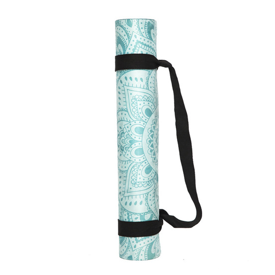 Mata do hot jogi Yoga Design Lab Combo 3.5mm - Mandala Turquoise