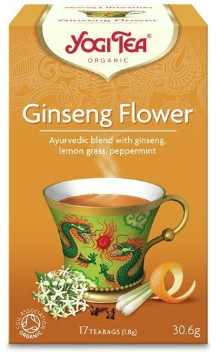 Yogi Tea Ginseng Flower 30,6g