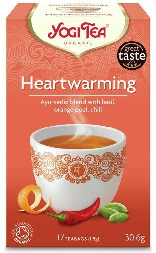 Yogi Tea Heartwarming 30,6g