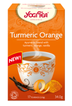 Herbata Yogi Turmeric Orange 34 g